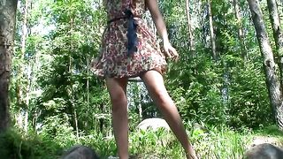 My cute and shameless girlfriend Vika is pissing in the forest--_short_preview.mp4