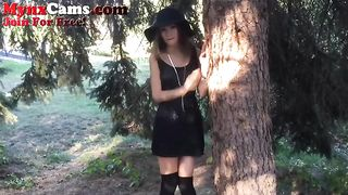 This cutie is in tune with her naughty side and she loves masturbating outdoors--_short_preview.mp4