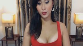 Busty Solo Shemale Babe Jerking On Webcam--_short_preview.mp4