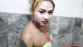 Amateur Ladyboy Chan Shower And Jerking Off--_short_preview.mp4