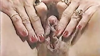 My hefty blonde BBW wife tickles her huge sensitive clit with her hands--_short_preview.mp4