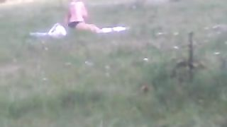 Spying on my neighbor's curvy wife taking sun bath naked--_short_preview.mp4