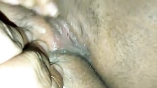 Close up homemade solo with me rubbing my non-shaved black pussy--_short_preview.mp4