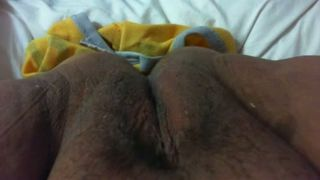 Vagina of my wife opened up and filmed closeup at home--_short_preview.mp4