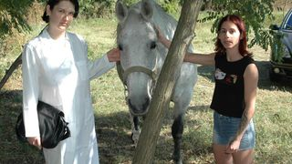 Gourmand girls with stallion - XXX Lesbi Beastiality--_short_preview.mp4