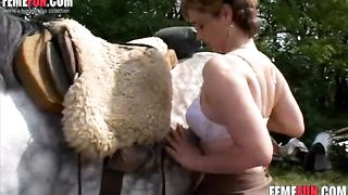 Good animal cock for my pussy hairy - farmer's wife Beastiality XXX--_short_preview.mp4