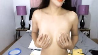 Hot Shemale Jacking her Hard Cock--_short_preview.mp4