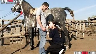 My brother pushes me my horse`s cock - Beastiality XXX--_short_preview.mp4