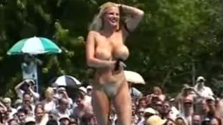 Astonishing busty babes walk down the catwalk in nude defile--_short_preview.mp4