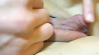 Kinky ex-wife of my friend was teasing her really huge clit on cam--_short_preview.mp4