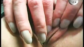 Comely blonde MILF adores fetish costume and solo masturbation--_short_preview.mp4