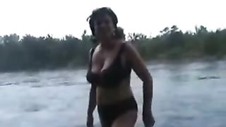 My curvaceous milfie wife undresses near the river--_short_preview.mp4