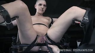Bold bounded bitch gets her pussy tortured by a horny master--_short_preview.mp4