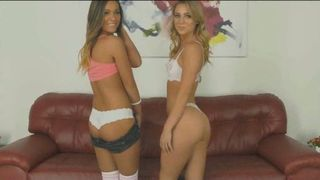 Lesbian Step Sisters Playing While Daddy Is Not Home--_short_preview.mp4