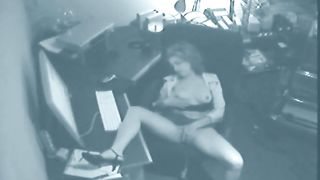 Hidden cam in the office catches horny girl in solo action--_short_preview.mp4