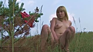 Busty and beautiful amateur sexy babe undresses on the hill and pisses--_short_preview.mp4