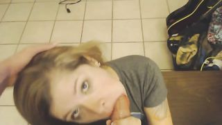 Brunette cutie wanted to be fed with delicious sperm after giving a head--_short_preview.mp4
