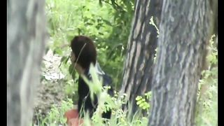 Redhead slender white girl hides behind the tree and pisses--_short_preview.mp4