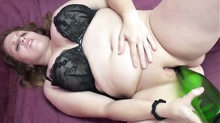 My fat sweetheart masturbates her pussy with a bottle--_short_preview.mp4