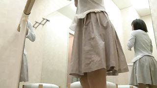 Locker room filled with cute all natural and sweet Japanese brunettes--_short_preview.mp4
