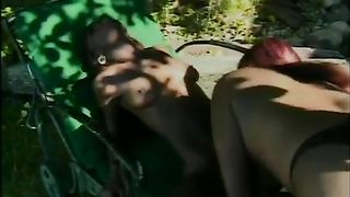 Two lewd ebony lesbians with juicy booties are getting frisky by the pool--_short_preview.mp4
