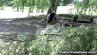 Cute and sporty brunette sweetie jogging in the park--_short_preview.mp4