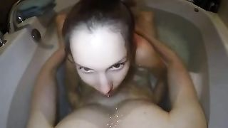 Happily giggling girlfriend of my buddy of my buddy wanked him in the bath--_short_preview.mp4