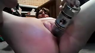 My lewd chubby spouse drills her meaty cunt with a bottle--_short_preview.mp4