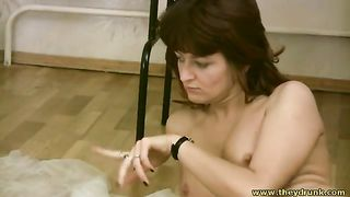 This prurient bitch loves to fuck herself with a bottle--_short_preview.mp4