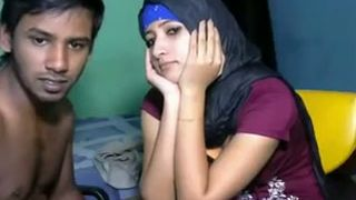 Cute and shy Arab girl in hijab finally sucks dick on webcam--_short_preview.mp4