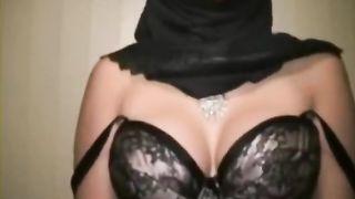 Busty Arab webcam slut in hijab fondles her sweet boobies--_short_preview.mp4