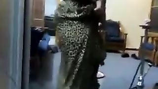 Thick Arabian wife of my friend shakes her big ass in sexy dress--_short_preview.mp4