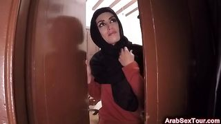 Sexy Arab girl has no money but a horny hotel manager knows how she can pay for the room--_short_preview.mp4