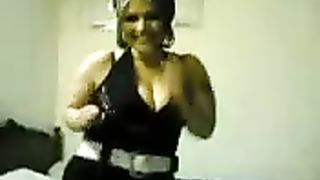 Hot and fat Arab BBW flashing her huge boobies on amateur cam--_short_preview.mp4