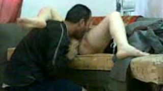 Arab friend eats his young wife's soaking pussy and fucks her doggystyle--_short_preview.mp4