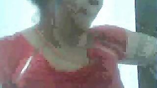 Brunette Arab teen cutie let me peek on her big boobies--_short_preview.mp4