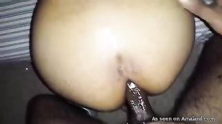 Dark skin horny Arab girlfriend loves oral sex and anal--_short_preview.mp4