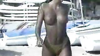 Curvy sunburned brunette beach girl flaunts her big tits--_short_preview.mp4