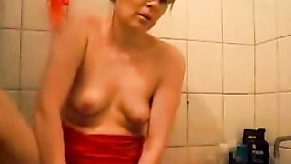 Kinky buxom enough bitchie housewife was kinda masturbating in bathroom--_short_preview.mp4