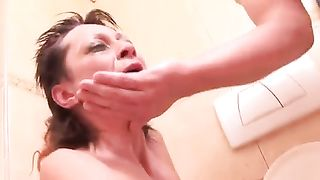 Wrinkled ugly and dirty 42 yo whore was mouthfucked really rough--_short_preview.mp4