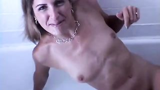 Raven haired flat chested amateur MILF wanted a bit of BJ workout--_short_preview.mp4
