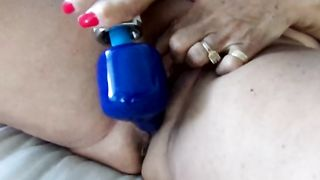 Amateur extremely fat lady with enormous ass masturbates with a toy--_short_preview.mp4