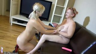 These unbelievably horny lesbians know how to use dildo for maximum pleasure--_short_preview.mp4