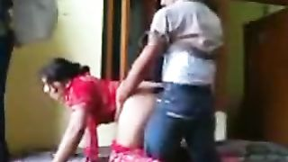 Amateur indian porn  - Punjabi Bhabhi in Red Salwar Fuck Show--_short_preview.mp4