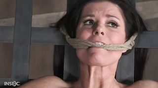 Hogtied submissive gagged brunette has to find out everything about BDSM--_short_preview.mp4