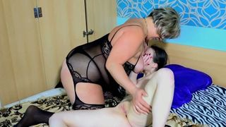 Pale skin brunette young beauty with BBW lesbian cougar--_short_preview.mp4