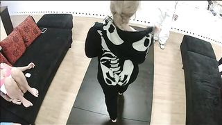 Costumed slut Stripping down over everyone--_short_preview.mp4