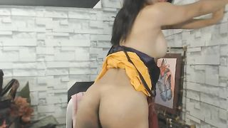 Hot Busty Tranny Self Sucking Cock--_short_preview.mp4