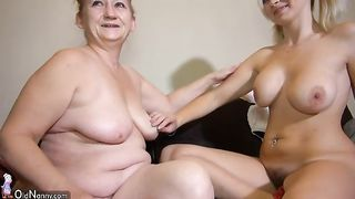 Am I the only who thinks that this blonde is too hot for this granny--_short_preview.mp4