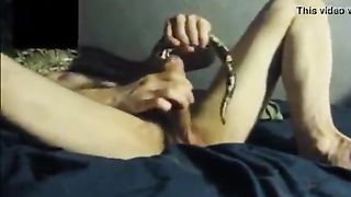 Watch movie Manfather of man getting into the snake--_short_preview.mp4